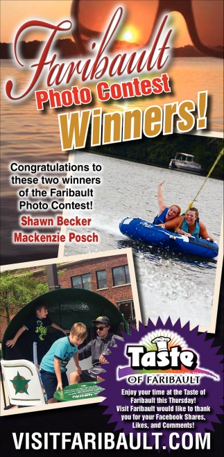 Faribault Photo Contest Winners!