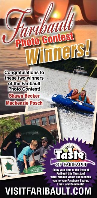 Faribault Photo Contest Winners!