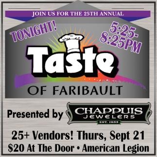 Taste of Faribault