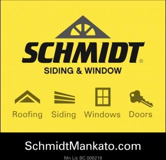 Roofing Siding Windows Doors Schmidt Siding And Window