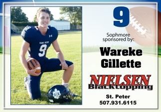 Wareke Gillette