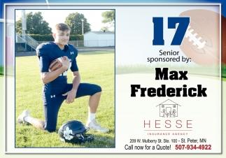 Max Frederick