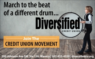 Join The Credit Union Movement, Diversified Credit Union, Minneapolis, MN