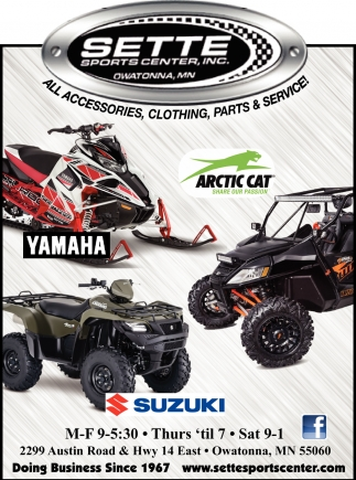 All Accesories, Clothing, Parts & Service