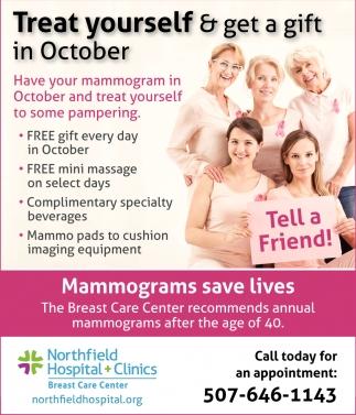 Mammograms save lives