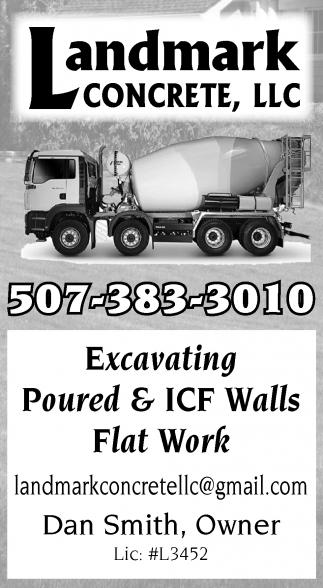 Excavating Poured & ICF Walls, Flot Work