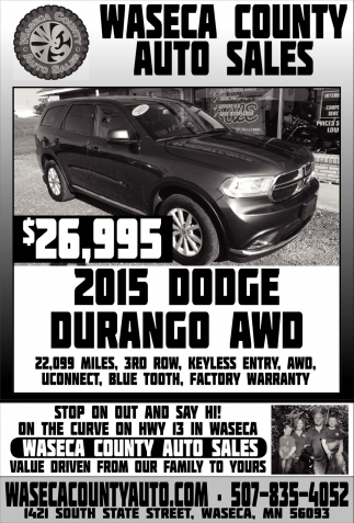 2015 Dodge Durango Awo