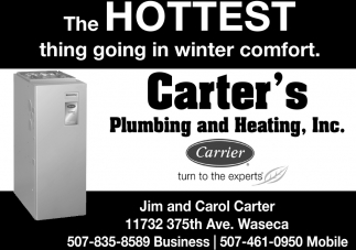 The Hottest thing going in winter comfort