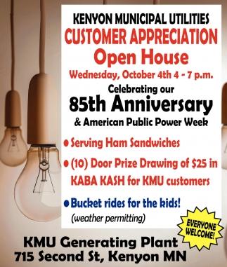 Customer Appreciation Open House