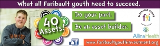 What all Faribault youth need to succeed, Faribault Youth Investment