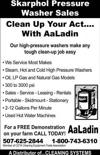 Clean Up Your Act.... With AaLadin