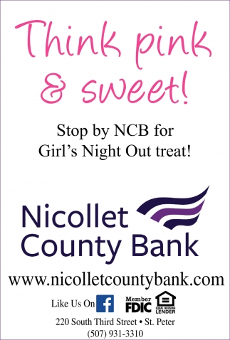 Stop by NCB for Girls Night Out treat!