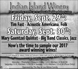 Now's the time to sample our 2017 award winning wines!
