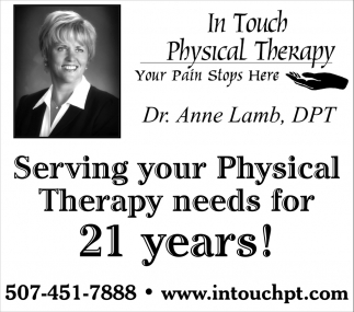 Serving Physical Therapy needs for 21 years!