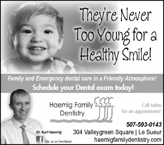 They're Never Too Young for a Healthy Smile!