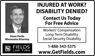 Injured at work? Disability Denied?