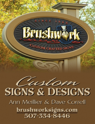 Custom Signs & Designs, Brushwork Custom Crafted Signs