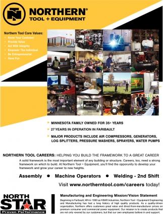 Assembly - Machine Operators - Welding