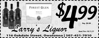 Forest Glen $4.99