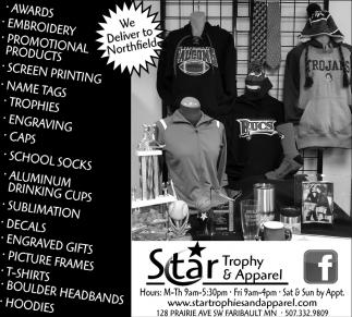 Apparel, Awards & More!