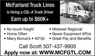 CLD - A Truck Driver