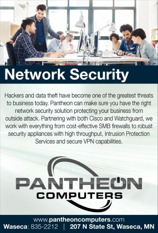 Network Security, Pantheon Computers, Waseca, MN
