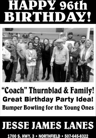 Hppy 96th Birthday!