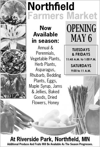 OPENING MAY 6