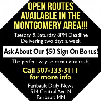 Montgomery Route