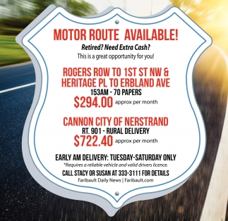 Motor Route