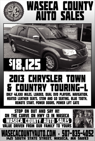2013 Chrysler Town & Countty Touring-L