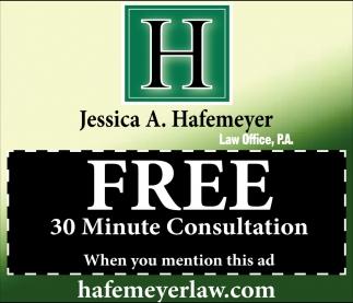 Free 30 Minute Consultation