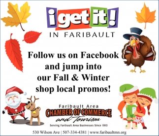 Fall & Winter shop local promos!