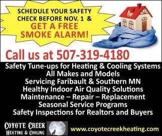 Get a free smoke alarm!