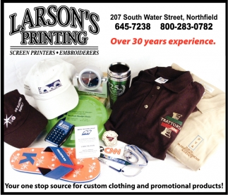 Screen Printers, Embroiderers