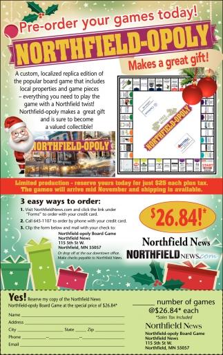 Northfield-Opoly
