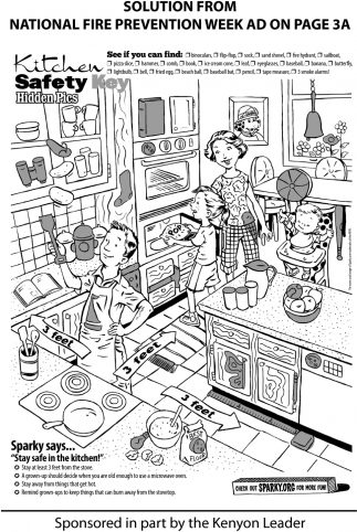 Kitchen Safety Key Hidden Pics, The Kenyon Leader, Faribault, MN