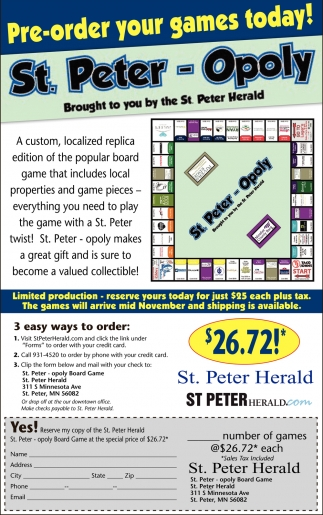 St. Peter-Opoly