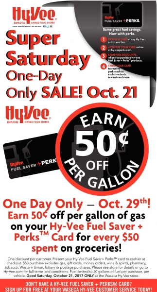 Super Saturday One-Day Only Sale!