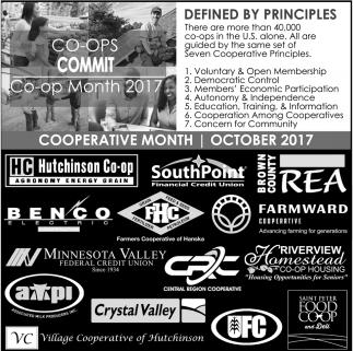 Cooperative Month