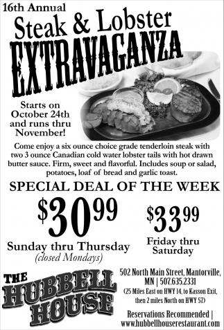 16th Annual Steak & Lobster Extravaganza