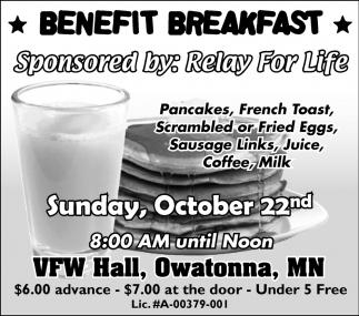 Benefit Breakfast