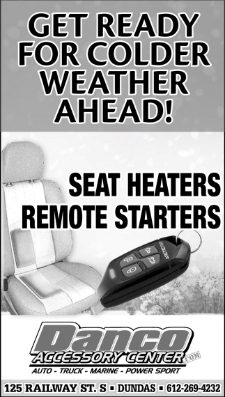 Seat Heaters, Remote Starters