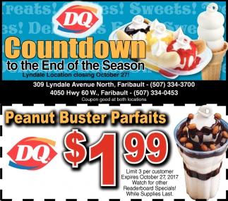 Peanut Buster Parfaits