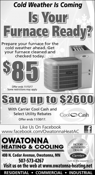 Is Your Furnace Ready?