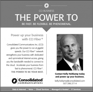 Power up your business with CCI Fiber+