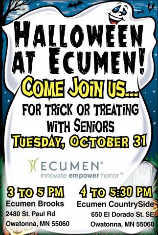 Halloween At Ecumen!