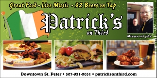 Great food, Live Music, 32 Beers on Tap!