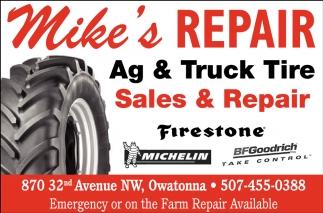 Sales & Repair