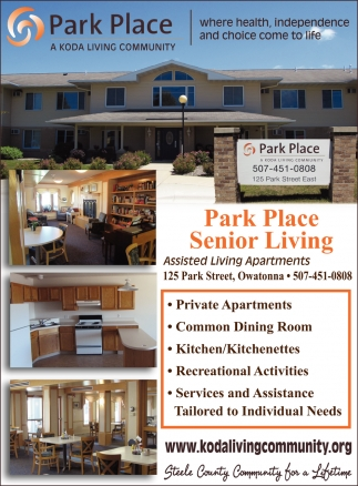 Assisted Living Apartments, Park Place Senior Living | Koda Living Community
